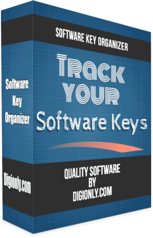 Software Key Organizer - Digionly.com